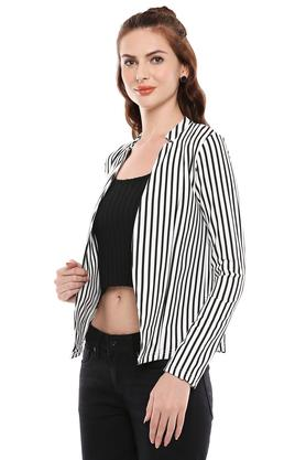 Womens Striped Jacket