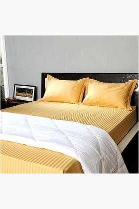 "STOA PARIS Gold 400 TC Bedlinen (Pillow Cover 18"" X 27"" (2 Pcs)"