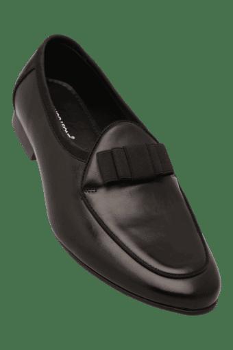 5ffd25771738 Buy FRANCO LEONE Mens Leather Slipon Smart Formal Shoe   Shoppers Stop