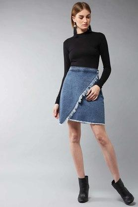 DOLCE CRUDO - Blue Skirts - 3