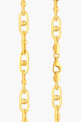 MALABAR GOLD AND DIAMONDS Mens 22 KT Gold Chain - 201391303