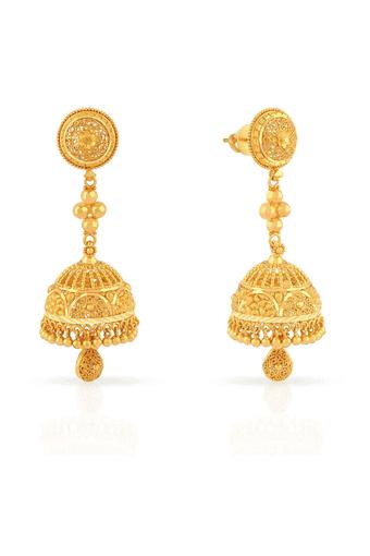 Womens Malabar Gold Earrings