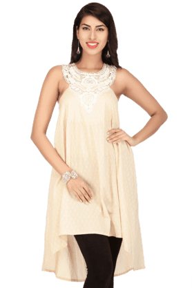 IMARA Women Cotton Printed Kurta