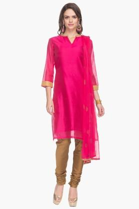 IMARA Womens Solid Churidar Suit
