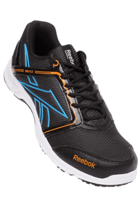 REEBOK Mens Blue Run Stream LP Running Shoe