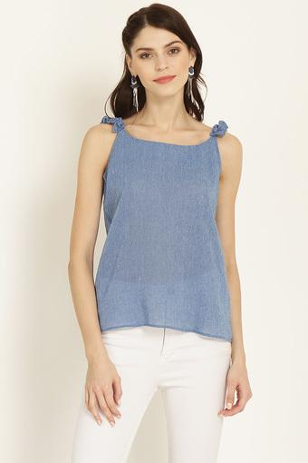 MARIE CLAIRE -  Blue Tops & Tees - Main