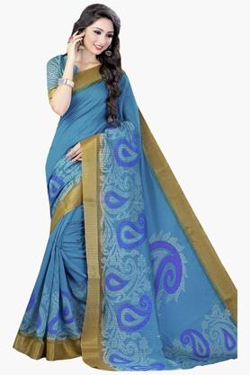 DEMARCAWomens Silk Designer Saree - 202338157
