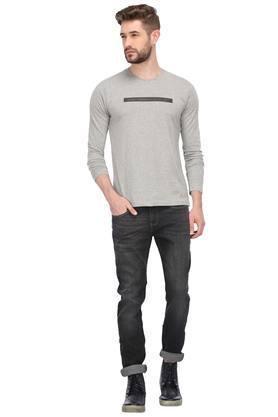 Mens 5 Pocket Mild Wash Jeans (Vegas Fit)