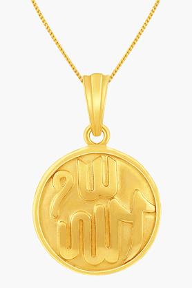 MALABAR GOLD AND DIAMONDSUnisex 22KT Gold Pendant - 201391098