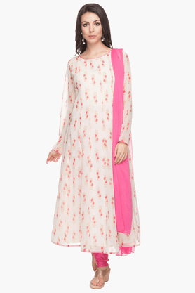 KASHISH Womens Printed Churidar Set