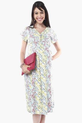 NINE MATERNITY Maternity Nursing Dress