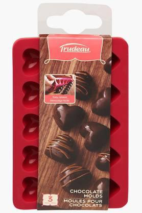 Heart Chocolate Moulds - Set Of 3