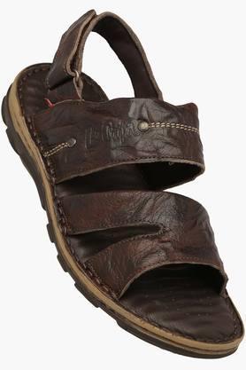 LEE COOPERMens Casual Velcro Closure Sandal