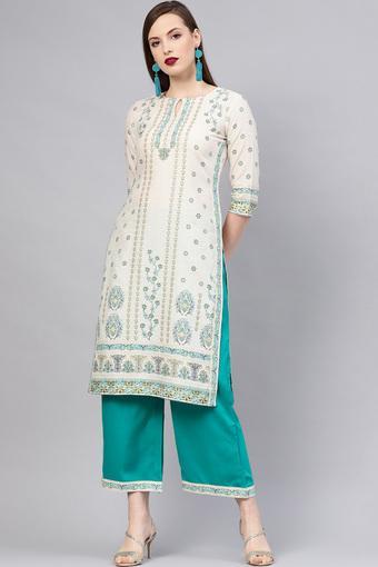 LIBAS -  BeigeSalwar & Churidar Suits - Main