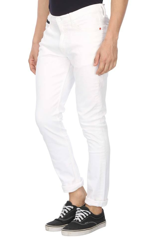 Mens 4 Pocket Coated Jeans (Bruce Fit)