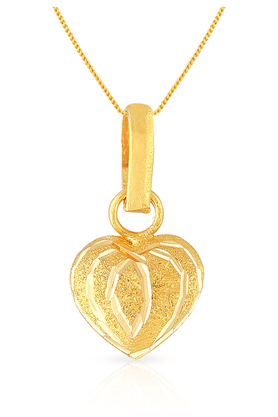 MALABAR GOLD AND DIAMONDS Womens Malabar Gold Pendant