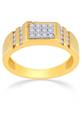 MALABAR GOLD AND DIAMONDS Mens Mine Diamond Ring - Size 22 - 201594541