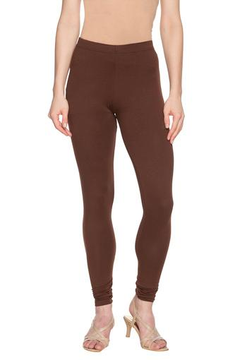 GO COLORS -  Brown Jeans & Leggings - Main