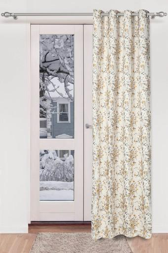 IVY -  Yellow Mix Curtains - Main