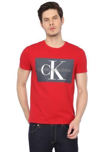 CALVIN KLEIN JEANS -  RedT-shirts - Main