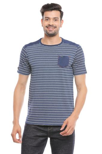 LEE COOPER -  Indigo T-shirts - Main