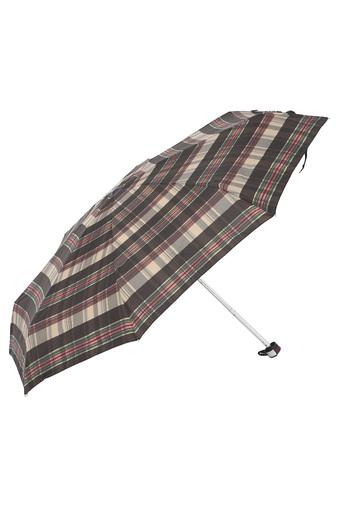 Unisex Check 5 Fold Umbrella