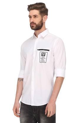 Mens Graphic Print Casual Shirt