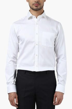 Park Avenue Formal Shirts (Men's) - Mens Slim Fit Stripe Shirt