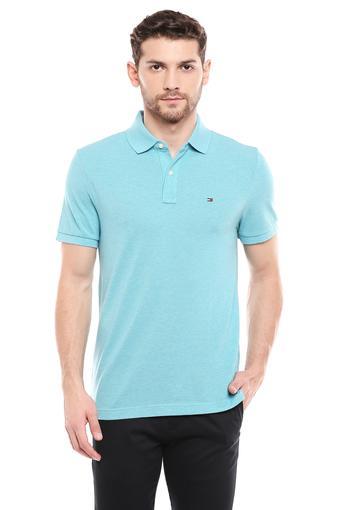 TOMMY HILFIGER -  Aqua BlueT-shirts - Main
