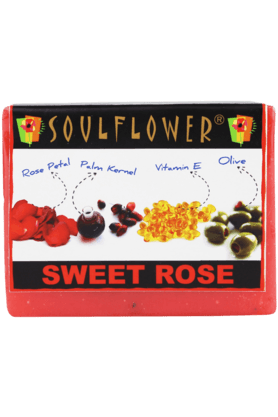 SOULFLOWER Rose - Soap
