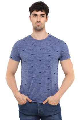 ffbcf937eecc X OCTAVE Mens Round Neck Printed T-Shirt. OCTAVE. Mens Round Neck ...