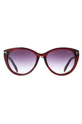 Womens Cat Eye UV Protected Sunglasses - LI040C126