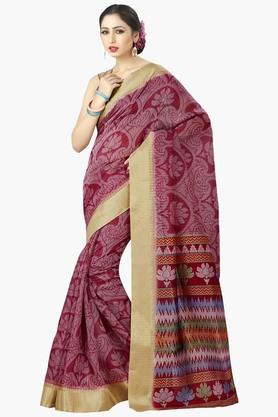 DEMARCAWomens Silk Designer Saree - 202338134
