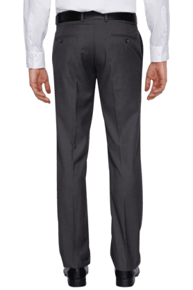 3d13d65707 Mens Flat Front Slim Fit Solid Formal Trousers