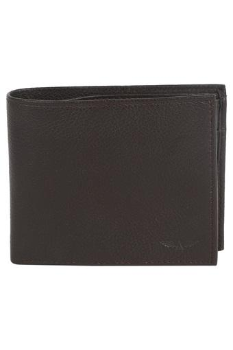 Mens Leather 1 Fold Money Clip