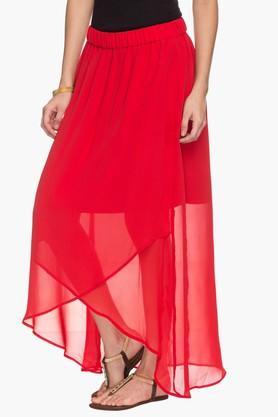 Womens Asymmetrical Skirt