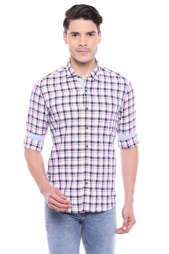 NUMERO UNO -  PinkCasual Shirts - Main
