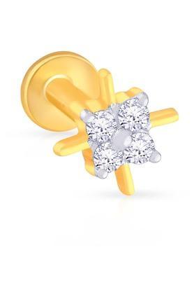 MALABAR GOLD AND DIAMONDSWomens Diamond Nosepin UINSP00141