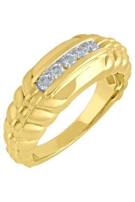 TARA JEWELLERSMen Gold & Diamond 18 Karat Ring
