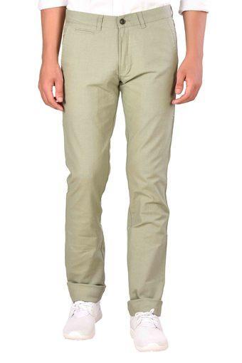 MOUSTACHE -  PistachioCasual Trousers - Main