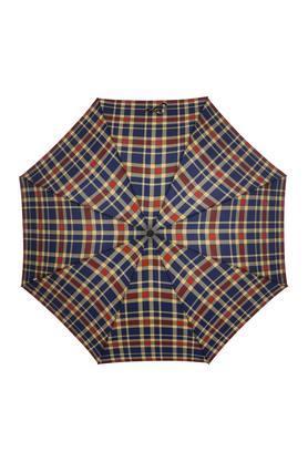 Unisex Checked Long Umbrella