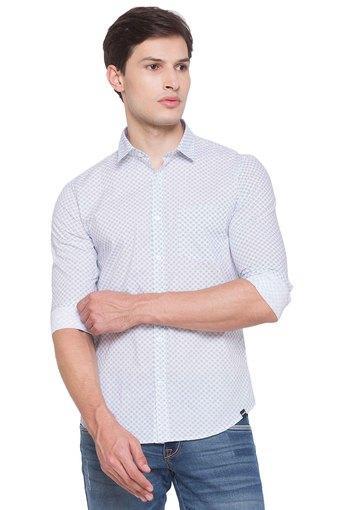 SPYKAR -  WhiteCasual Shirts - Main