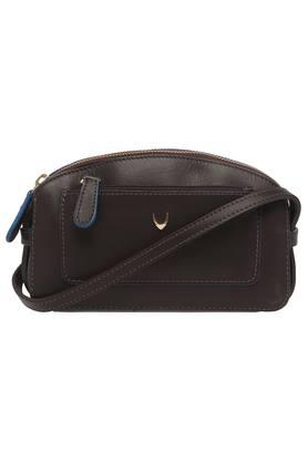 Womens Zip Closure Sling Clutch