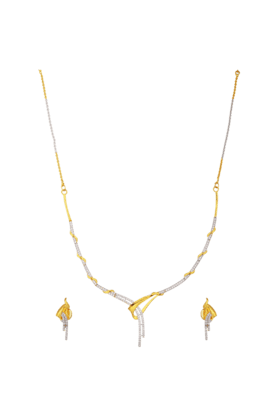 TUAN Dazzling Diamond Necklace Set For Women -INK-786