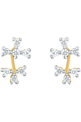 MAHIGold Plated Earrings With CZ For Women ER1191486G