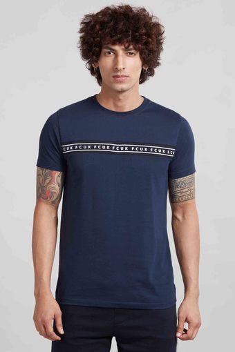 FCUK -  BlueT-Shirts & Polos - Main