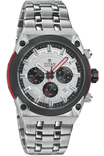 a8f1585c98 Buy TITAN Mens Watch 90030KM03 | Shoppers Stop