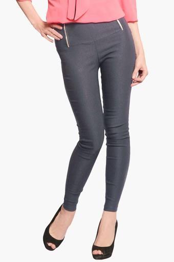 MISS CHASE -  GreyJeans & Leggings - Main