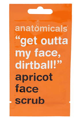 ANATOMICALS Apricot Face Scrub 15ml