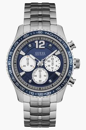 Mens Chronograph Stainless Steel Watch - W0969G1